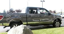 "2009-2014 Ford F-150 Crew Cab 5.5' Short Bed No Flare 7"" Rocker Panel Trim-12pc"