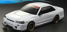 1:10  Lexan Body / Karosserie  Nissan Skyline R34 (clear+decals )