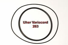 COURROIES SET UHER VARIOCORD 263  MAGNETOPHONE A BANDE EXTRA FORT NEUF FABRIQUE