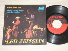 "LED ZEPPELIN - WHOLE LOTTA LOVE / LIVING LOVING MAID - RARO 45 GIRI 7"" ITALY"