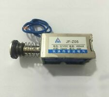 JF-Z05 Amico DC 12V 400mA Push Pull Type Open Frame Solenoid Electromagnet 10mm