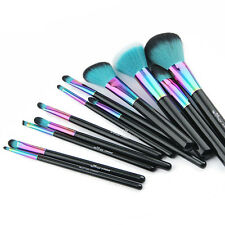 Brand New Makeup Brushes Big 12pcs Set Rainbow Spectrum Anmor Siren