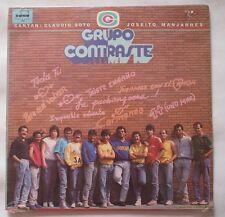 Grupo Contraste 1989 LP Vinyl S/S Factory SEALED Sonotone 1054 Canta C. Santo