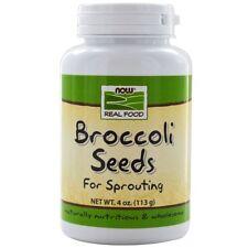 Now Foods, Real Food, Broccoli Seeds, 4 oz (113 g)