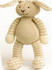 BABY KNITTING PATTERN FOR  rabbit toy 14 inches