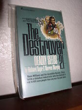 The Destroyer #21: Deadly Seeds by Sapir & Murphy (Pinnacle,1'st Prt, 1975,PB