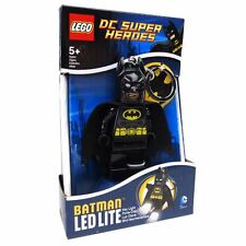 Official LEGO DC Super Heroes Batman LED Key Light Keyring Keychain - Boxed