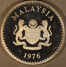 1976 Malaysia 15 Ringgit with Gaur Silver Proof        ** FREE U.S. SHIPPING **