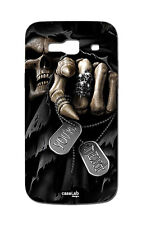 COVER CASE PROTETTIVA MORTE TARGHETTE PER ALCATEL ONE TOUCH POP C9 7047D