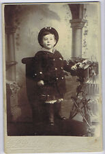 Cabinet Card Photograph Victorian Child