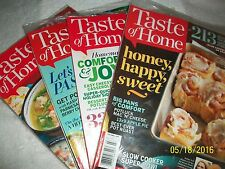 TASTE OF HOME MAGAZINES (LOT OF 7) READ  DESCRIPTION