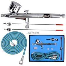 G233 Master Airbrush with 0.2, 0.3, 0.5mm Dual-Action Gravity AIRBRUSH SET KIT