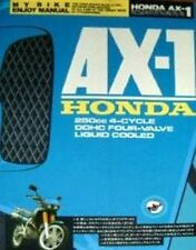 Honda AX-1 Enjoy Manual Book