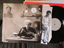 JAPAN Tin Drum LP A3/B3 ORIG PRESS W/POSTER V2209 david sylvian uk rare '81 synt