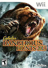 CABELA'S DANGEROUS HUNTS 2013 (Wii)