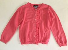 NEW Girls Pink Ruffle Front  Cardigan Sweater Infant 18M Sprockets Spring Easter