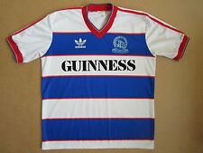 1985-86 QPR Adidas Home Shirt *Near Mint* L