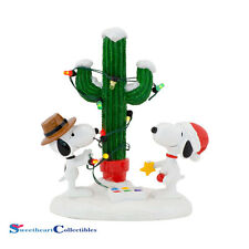 Dept 56 Peanuts Snoopy 4043416 Spike & Snoopy's Christmas