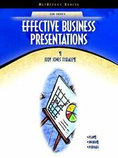 Effective Business Presentations by Judy Jones Tisdale (2004, Paperback)