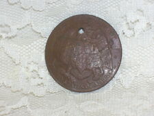 USA TREASURY DEPARTMENT COIN SAN FRANCISCO MINT 1874-1937 HAMMERED CONCAVE