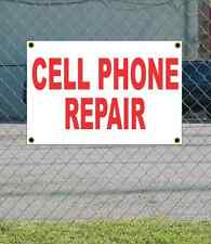2x3 CELL PHONE REPAIR Red & White Banner Sign NEW Discount Size Price FREE SHIP