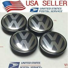 4 Pcs VW 65mm Wheel Rim Center Cap Fit VW EOS CC JETTA PASSAT TIGUAN 3B7601171