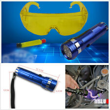 Profession Car Conditioning Leak Detector HVAC A/C UV LED Light + Safety Glasses