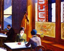 Hopper Edward Chop Suey Canvas 16 x 20   #4736