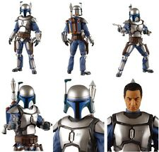"STAR WARS : ATTACK OF THE CLONES : JANGO FETT 12"" MEDICOM ACTION FIGURE. GENOSIS"
