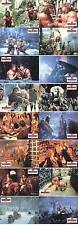 Die Barbaren Fotosatz 16 AHF Lobby Card Set Barbarian Brothers Rugero Deodato