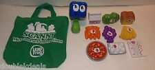 LEAPFROG INTERACTIVE COUNT AND SCAN FOOD MUSICAL EDUCATIONAL SCANNER / FRENCH