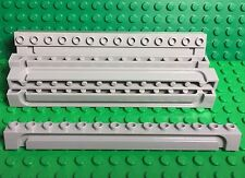 Lego X10 New 1x14 Light Gray Brick W/ Groove / City Garage Sliding Roller Parts