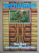 TECHNIKUS 6/1987 * Patenkinder Leonard Euler Seilbahnen Flußpferde Astronautik