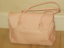 CRISTIAN Pink Leather Handbag, Made in Italy, BRAND NEW