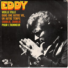 "7"" FRENCH EP 45 TOURS EDDY MITCHELL ""Vieille Fille / Charlie Charlie +2"" 1969"