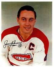 "Jean Beliveau-Reprint autograph from our original signed 8"" x 10"" photo - WOW!!!"