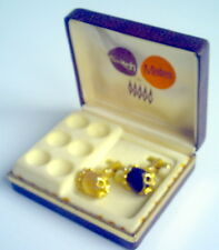 VINTAGE SWITCH MATES BY ARROW CUFFLINK SET WHIT BOX