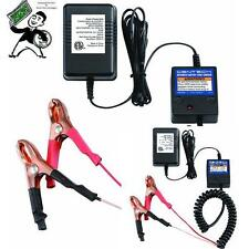 Lot of 2 New 12v Volt Automatic Car Battery Float Trickle Charger 30% off 2nd