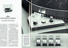 PUBLICITE ADVERTISING 0217  1979  Akai (2pages)  les platines a quartz