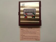 Vintage, Retro, Collectible Nintendo GAME & WATCH MARIO BROS.1983 MW-56