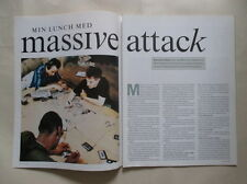 Massive Attack Mushroom Daddy G Robert 3D Del Naja Moby Oasis clippings Sweden