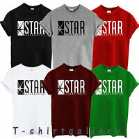 STAR Laboratories T Shirt Top The Flash  S.T.A.R. Labs ALL SIZES T SHIRTS