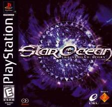 Star Ocean The Second Story PS1 PS2 Playstation Game
