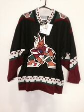 Men 46-R Phoenix Coyotes NHL Authentic Jersey with Player Nameplate NWT :250.00