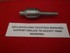Morse Taper 2 Live Revolving Tail Stock for use with MT2