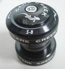 "CANE CREEK S8 S 8 S-8 HEADSET 28.6MM 1 1/8 "" NEW BLACK MTB BIKE NEW IN OEM BOX"