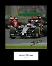 JENSON BUTTON #4 Signed Photo Print 10x8 Mounted Photo Print - FREE DELIVERY