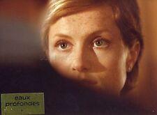 ISABELLE HUPPERT  EAUX PROFONDES 1981 VINTAGE PHOTO ORIGINAL #1