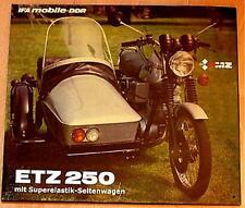 Älteres Blechschild  Oldtimer Motorrad Ifa MZ Werbung gebraucht used