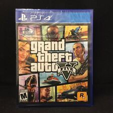 Grand Theft Auto V GTA 5  (Sony PlayStation 4, 2014) BRAND NEW